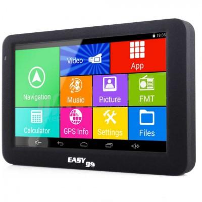 GPS навигатор EasyGo A505 CityGuide + Европа IGO Primo