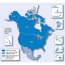 Карта Америки для навигаторов Garmin