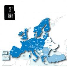 Карта Европы для навигаторов Garmin
