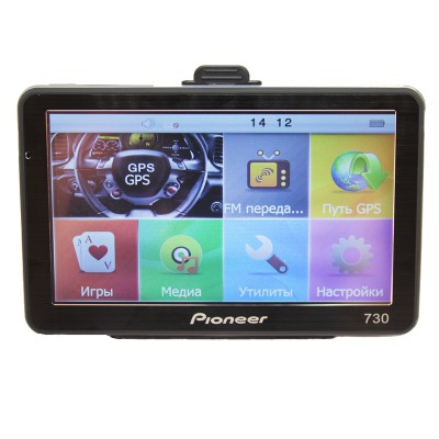 GPS навигатор Pioneer PI-730 Truk Europe