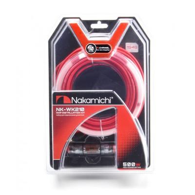 Провода Nakamichi NK-WK210 для 4-х канального усилителя