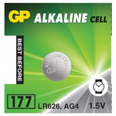 Батарейки GP LR626/177/AG4 1.5V 10 шт