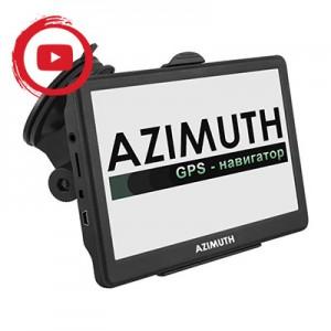 Видеообзор навигатора Azimuth S74