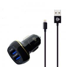 Автомобильное зарядное Lenyes CA821 Apple Lightning 3.1 А