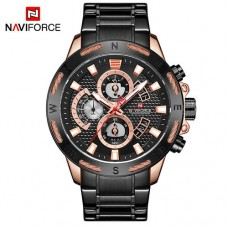 Часы Naviforce NF9165 Black-Cuprum