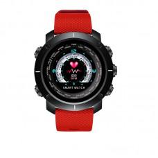 Часы Smart watch Black-Red Wristband