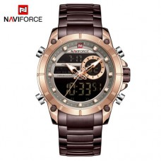 Часы Naviforce NF9163 Brown-Cuprum