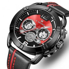 Часы Naviforce NF9168 Black-Red