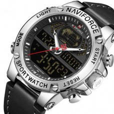 Часы Naviforce NF9164 Black-Silver