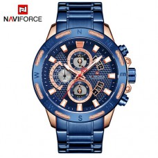 Часы Naviforce NF9165 Blue-Cuprum