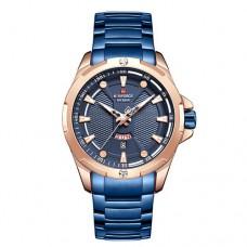 Часы Naviforce NF9161 Blue-Cuprum-Blue