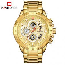 Часы Naviforce NF9165 All Gold