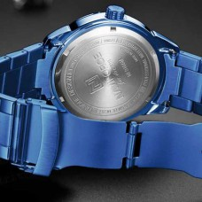 Часы Naviforce NF9166 Blue-Silver