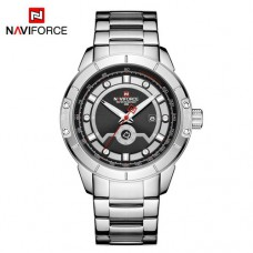 Часы Naviforce NF9166 Silver-Black