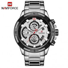 Часы Naviforce NF9165 Silver-Black