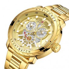 Часы Naviforce NF9158 All Gold
