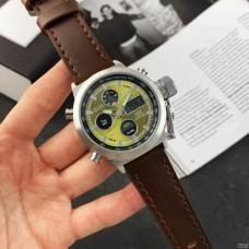 Часы AMST 3003 Silver-Green-Brown Wristband