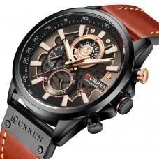 Часы Curren 8380 Black-Brown